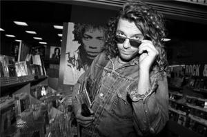 Michael hutchence à new york en 1993