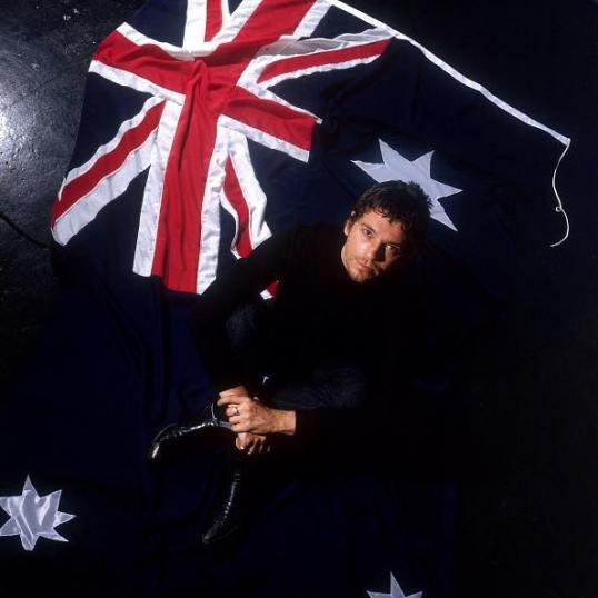 Michael + drapeau AUS 2