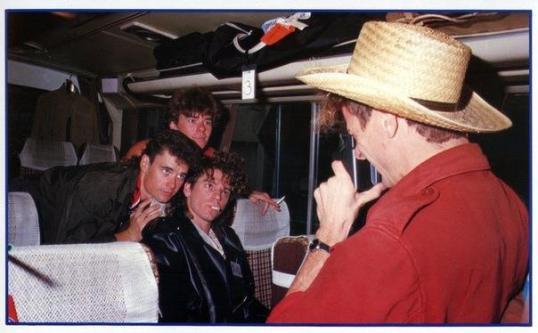 dans le bus vers 1983
