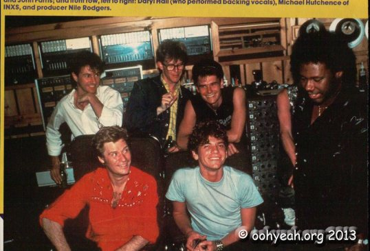 INXS et Nile Rodgers